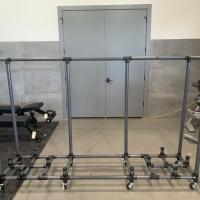 Power Systems Aerobic Step Rack