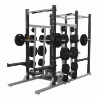 Matrix Magnum MG-A47691 Combo Power Rack/Half Rack