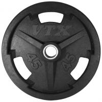 USA Troy VTX Rubber Grip Plate (2.5-45lbs)